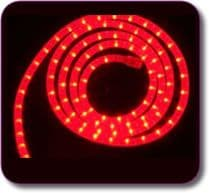 16m Red Flexilight Ropelight - Xmas Disco DJ or Karaoke