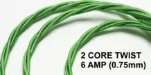 2 CORE TWIST - 6 Amp