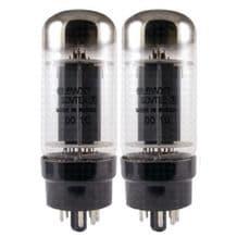 A Matched Pair of Sovtek 6L6WXT+ Power Vacuum Tubes / Valves