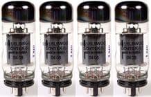 A Matched set of FOUR Sovtek 5881/6L6WGC Power Vacuum Tubes / Valves