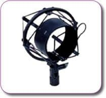 Anti Vibration Microphone Cradle / Shockmount Small