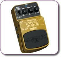 Behringer Acoustic Modeller AM100 Effects Pedal Stomp Box