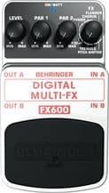 Behringer Digital Multi-FX FX600 Pedal Stomp