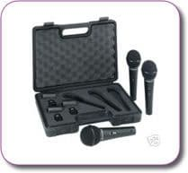Behringer XM1800S Pack of 3 Microphones
