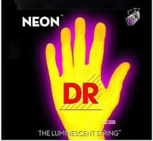 DR NEON NYE-10 Neon Yellow Luminescent/Fluorescent Electric Guitar strings 10-46