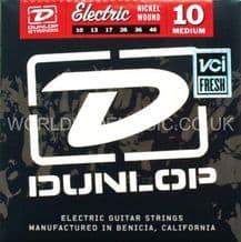 DUNLOP ELECTRIC GUITAR STRINGS MEDIUM 10-46