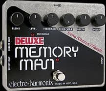 ELECTRO HARMONIX Deluxe Memory Man Guitar FX Pedal