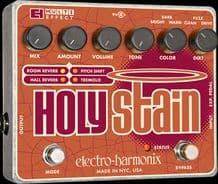 Electro Harmonix Holy Stain Tremolo, Reverb & Multi FX Guitar Pedal Stomp Box