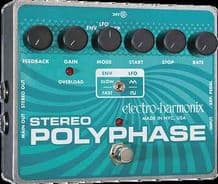 Electro Harmonix Stereo Polyphase Analog Optical Envelope/LFO Phase Shifter FX