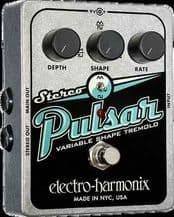 Electro Harmonix Stereo Pulsar Variable Shape Analog Tremolo Guitar / FX Pedal