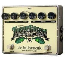 Electro Harmonix Turnip Greens compact multi-effects Guitar Pedal BRAND NEW 2014