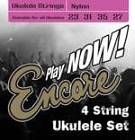Encore Nylon 4 String Ukulele Strings EUKS4