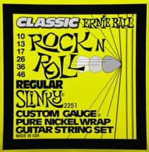 Ernie Ball 2251 Classic Rock n Roll Regular Slinky Guitar strings