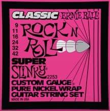 Ernie Ball 2253 Classic Rock n Roll Super Slinky Guitar strings
