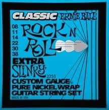 Ernie Ball 2255 Classic Rock n Roll Extra Slinky Guitar strings