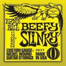 Ernie Ball Beefy Slinky Nickel Wound Guitar Strings