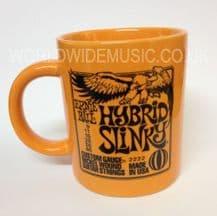 Ernie Ball Hybrid Slinky Guitar Strings Mug - Orange