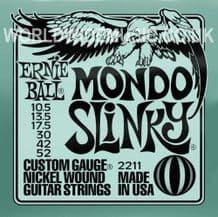 Ernie Ball Mondo Slinky Nickel Wound Guitar Strings