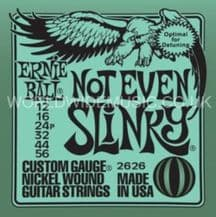 Ernie Ball Not Even Slinky Nickel Wound Guitar Strings