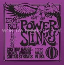 Ernie Ball Power Slinky Nickel Wound Guitar Strings