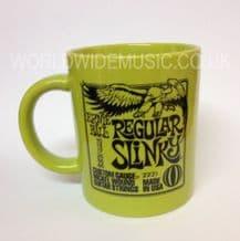 Ernie Ball Regular Slinky Guitar Strings Mug - Yellow