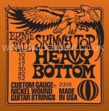 Ernie Ball Skinny Top Nickel Wound Guitar Strings