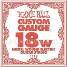 Ernie Ball Slinky Strings - Single WOUND Guitar Strings - Gauges  .018 - .062