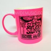 Ernie Ball Super Slinky Guitar Strings Mug - Pink
