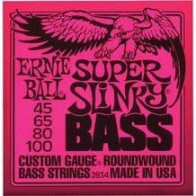 ERNIE BALL SUPER SLINKY NICKEL ROUNDWOUND BASS GUITAR STRINGS