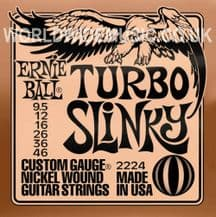 Ernie Ball Turbo Slinky Nickel Wound Guitar Strings