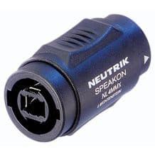 Neutrik NL4MMX 4 Pole 2 Pole Male-Male Speakon Coupler