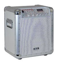 New Jersey Sound Corp 15 Watt Portable MP3 Public Address PA System