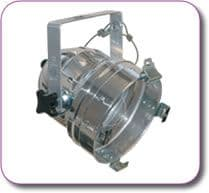 PAR 56 Parcan Silver Incl filter frame and safety chains