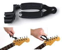 Planet Waves Pro Winder 3 in 1 Guitar String Winder, Cutter & Bridge Pin Puller
