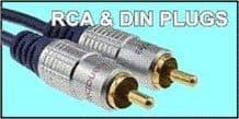 RCA & DIN PLUGS