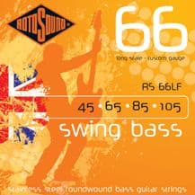 Rotosound RS66LF Swing Bass Long Scale Custom Gauge Strings