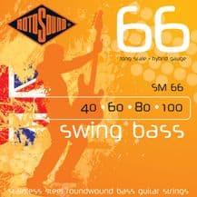 Rotosound SM66 Swing Bass Hybrid Strings