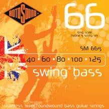 Rotosound SM665 Swing Bass Hybrid 5 String Set