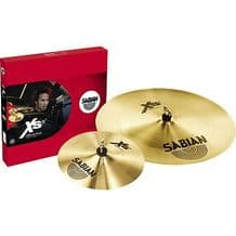 "Sabian XS20 Effects Cymbal Pack 10"" Splash & 18"" Chinese Cymbals  SABXS5005EB"