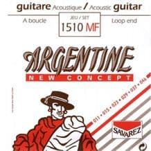 Savarez Argentine 1510MF Loop End Light Acoustic Jazz Guitar Strings, 11 - 46