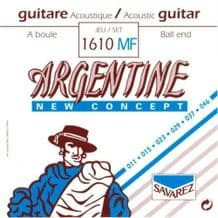 Savarez Argentine 1610MF Ball End Light Acoustic Jazz Guitar Strings, 11 - 46