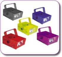 SoundLAB 14W Plastic Mini Strobe choice of colours