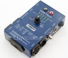 SoundLAB CT02 CABLE TESTER - XLR, JACK, SPEAKON, PHONO, DIN & BANANA