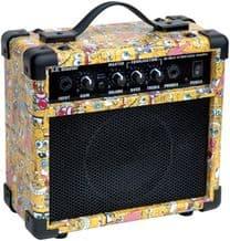 SPONGEBOB BB10 BLASTER 10 W GUITAR PRACTICE AMP / COMBO