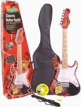 SpongeBob Squarepants 3/4 Size Electric Guitar Outfit