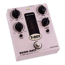 T Rex Room-Mate Tube Driven Reverb Guitar FX Pedal / Stomp Box - BRAND NEW