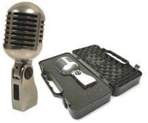 YOGA Vintage Style 'Elvis' Retro Microphone including Case